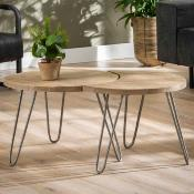 Table basse bois massif BALTIK
